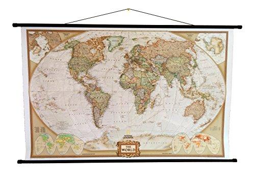 national-geographic-carte-du-monde-politique-style-executive-avec-cintre-marron