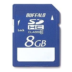 BUFFALO Class10 SDHCカード 8GB RSDC-8GC10/E [フラストレーションフリーパッケージ (FFP)]