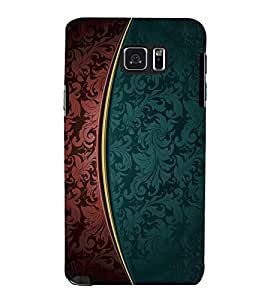 printtech Art Pattern Floral Back Case Cover for Samsung Galaxy Note 5 N920