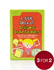 Little Deck of Brilliant Brainteasers