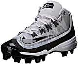 NIKE Boy's Air Huarache 2kfilth Pro Baseball Cleat, Wolf Grey/Black