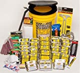 Emergency Survival Kit Bucket - Deluxe - 1 Person