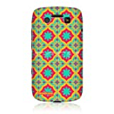 Head Case Colourful Floral Moroccan Print Pattern Back Case for BlackBerry Bold 9790