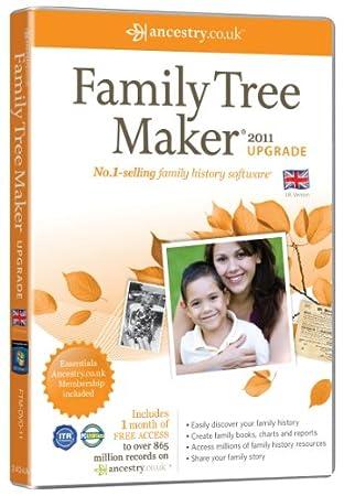Family Tree Maker 2011 upgrade