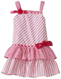 So La Vita Little Girls' Drop Waist Dress