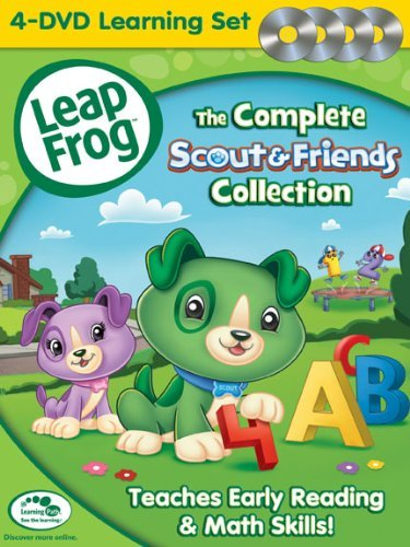 Leapfrog: The Complete Scout & Friends Collection [DVD] (Friends Complete Box Set compare prices)