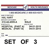 Medicare And Social Security Card Protector Set Of 3