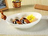 西田(Nishida) 10.5号楕円皿(深め) カレー皿 パスタ皿 110038