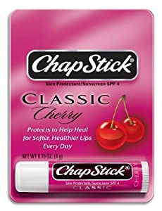 Chapstick Lip Balm Spf 4, Cherry - 0.15 Oz