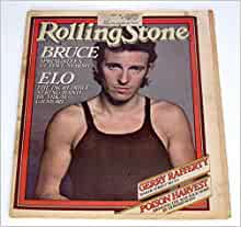 ROLLING STONE AUGUST 24 1978 #272 - BRUCE SPRINGSTEEN - FIRST COVER - NO LABEL