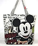 Disney Mickey Mouse Canavas Handbag Luggage Bag Purse Tote Wallet 18 45cm