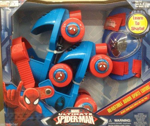 Ultimate Spider-man Junior Skates (red/blue, 6-9)