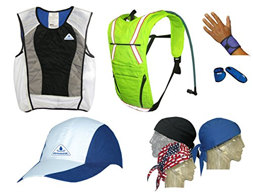 Action Sports Ultimate Summer Cooling Kit 7 Pieces