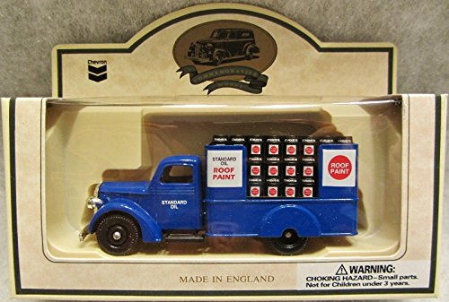 1939 Roof Coating Flat Bed Die Cast by Lledo - 1