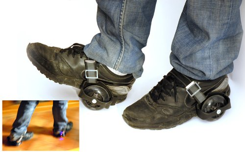 xrollers les roulettes lumineuses adaptables vos chaussures