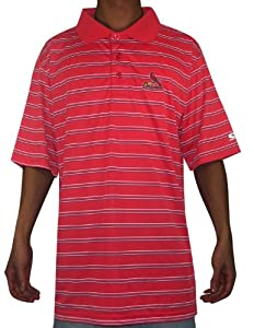 Mens MLB St. Louis Cardinals Baseball Athletic Short Sleeve Polo Shirt 2XL Red