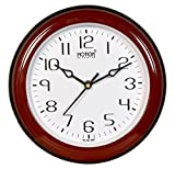 Motion'S Round Wall Clock For Home / Office/ Business Use Powered By Quartz (100% Original,Durable+1 Year Warranty)