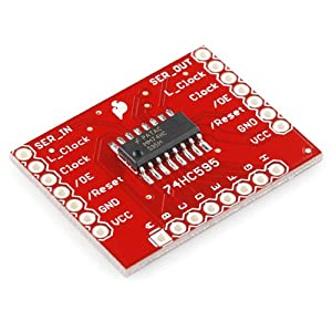 Shift Register Breakout - 74HC595 from SparkFun