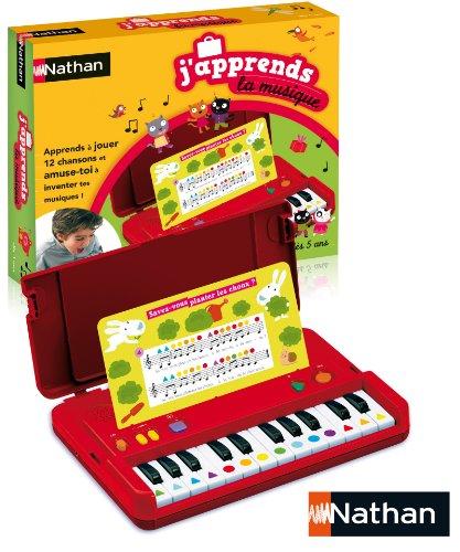 Nathan - 31093 - Jeu de société - Jeu éducatif - J'apprends la Musique