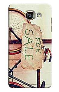 Blue Throat Bicycle For Sale Hard Plastic Printed Back Cover/Case For Samsung Galaxy A7 2016