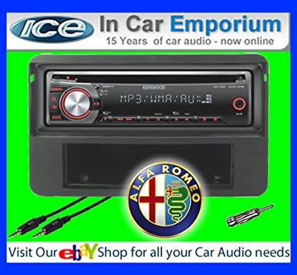 Alfa Romeo 159 Autoradio CD MP3 radio play Clarion, iPod, iPhone, Android