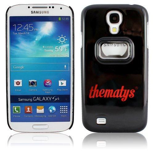 Samsung Galaxy S4 i9500 i9505 Original thematys® FLASCHENÖFFNER Bier Design Case Schutz-Hülle Cover Schale Etui handyhülle thematys®