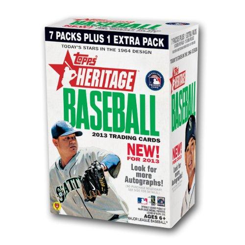 MLB 2013 Heritage Baseball Blaster Trading Cards