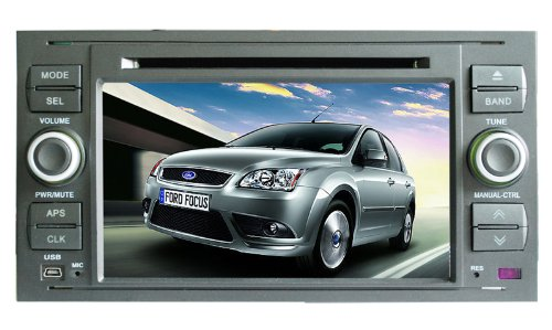 Koolertron For FORD FOCUS 2004-2007/ TRANSIT 2007/ C-MAX-S-MAX 2005-2007/ FUSION/FIESTA Nov 2005/ GALAXY 2007/ FIESTA 2005/ KUGA 2008 Indash DVD Player w/ GPS Navigation Sat Nav