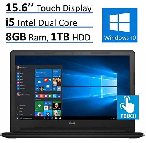 Dell Inspiron 15.6'' HD Touchscreen Premium Laptop PC (2016 Newest Model), Intel i5-5200U 2.2GHz, 8GB RAM, 1TB HDD, DVD +/- RW, Intel HD Graphics 5500, MaxxAudio, Bluetooth, HDMI, WiFi, Windows 10 (Model 1 Sales compare prices)