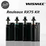 WISMEC Reuleaux RX75kit with Amor Mini 【VTC4電池付】[ルーローRX75+アムールミニ] (Full Black)