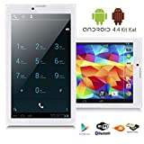 "Indigi® 7"" Android 4.4 Mega 3G SmartPhone Phablet Tablet PC w/ Google Play Store"