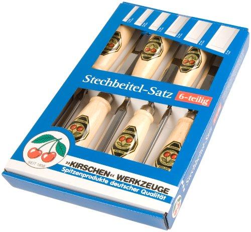 Kirschen-Stechbeitelsatz-6-Teilig