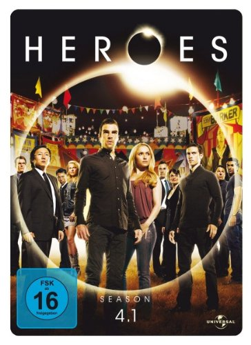 Heroes - Season 4.1 - limited Steelbook [4 DVDs]