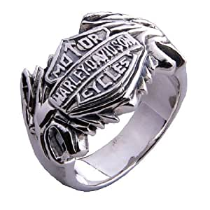 harley davidson ring motor cycle jewelry for