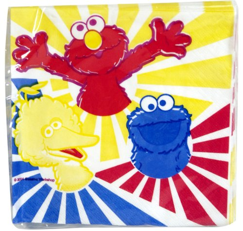 Sesame Street Party Napkins (16 Count)