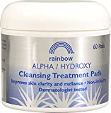 Alpha Hydroxy Cleansing Pads, 60 ct by Rainbow Research