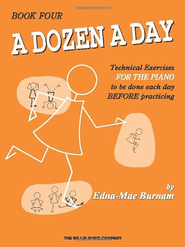 A Dozen a Day Book 4 (Dozen a Day Songbooks)