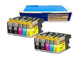 Amazon.com: Inkjetcorner 10 Pack Compatible Ink Cartridge for Brother