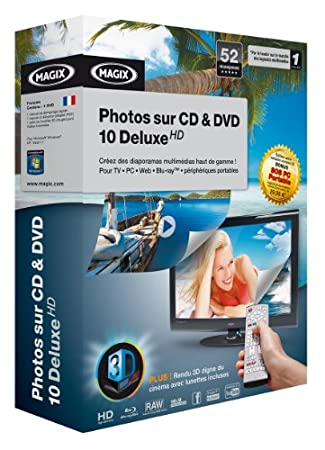 Photos sur CD & DVD 10 Deluxe