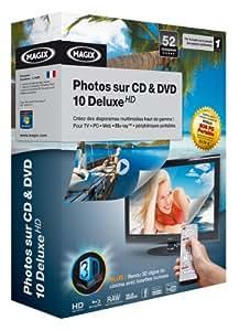 Photos sur CD & DVD 10 Deluxe