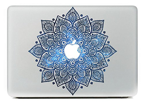 Last Innovation Leaves With Night Sky Removable Vinyl Decal Sticker for Macbook 13