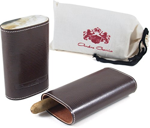 andre-garcia-limited-edition-brown-lizard-leather-cedar-lined-telescopic-3-finger-cigar-case-with-fl