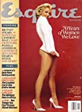 img - for Esquire, 70 Years of Women We Love, Britney Spears, November 2003 book / textbook / text book