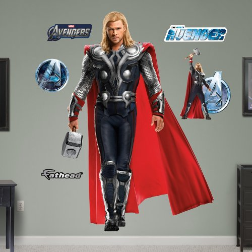 Fathead Thor: Avengers Live Action Photo Graphic Wall Décor