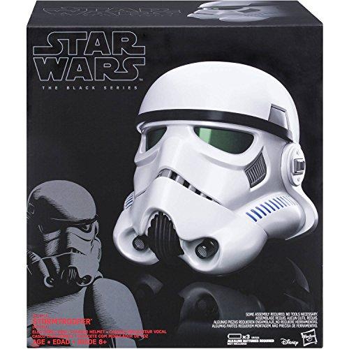 Starwars Stormtrooper S1 BL BLACK SERIES HELMET (Black Stormtrooper Costume)