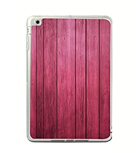 Wooden Pattern 2D Hard Polycarbonate Designer Back Case Cover for Apple iPad Mini 4 :: Apple iPad Mini 2 :: Apple iPad Mini 2 Wi-Fi + Cellular :: Apple iPad Mini 3 :: Apple iPad Mini 3 Wi-Fi + Cellular