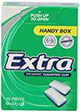 EXTRA Spearmint Sugar Free Chewing Gum Handy Box 25 Pellet s(Pack of 12)