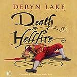 Death in Hellfire (       UNABRIDGED) by Deryn Lake Narrated by Michael Tudor Barnes