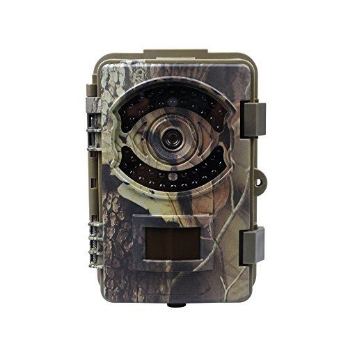 KV.D Game Trail Hunting Camera 16MP 1080P FHD Infrared Night Vision Scouting Camera with 42pcs IR LEDs (Camera) (Game Cameras Hunting compare prices)