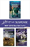 Harlequin Love Inspired Suspense May 2016 - Box Set 2 of 2: Emergency Response\Plain Protector\Unknown Enemy (First Responders)